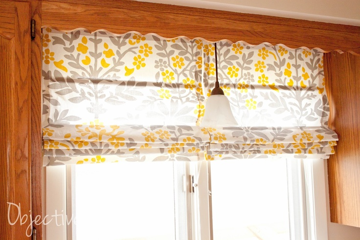 Easy No Sew Roman Shades For Diy Pinterest