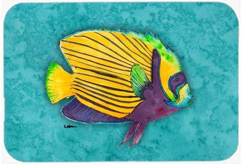 Fish Tropical Kitchen/Bath Mat