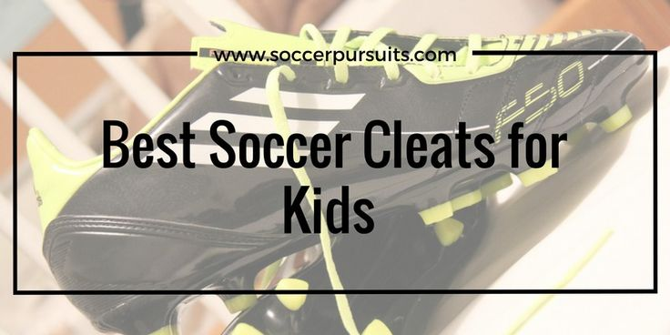 Find the best soccer cleats for kids/youth today. This article includes soccer shoes for boys, girls, and kids with wide feet. Plus where to buy them.
