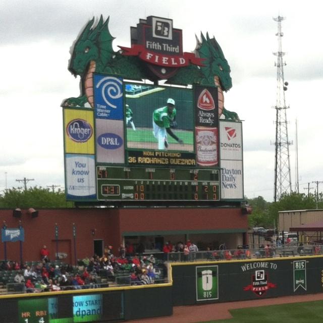 Dayton Dragons Baseball, Minor League Baseball.