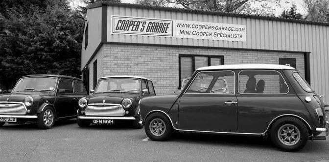17 best images about black white mini on pinterest for Garage mini cooper