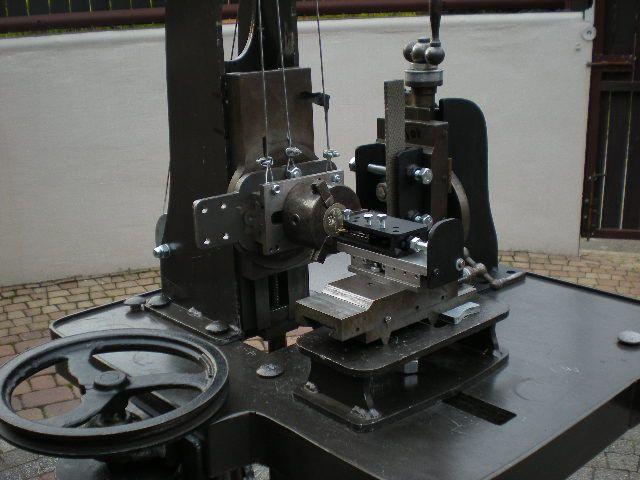 Hand made straight line guilosche.Rose engine turning. Made by Leszek Kralka