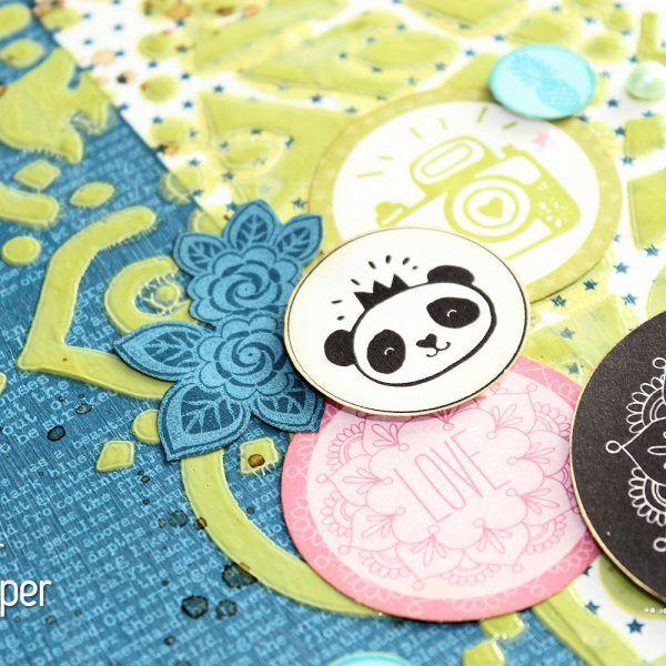 Lady Pattern Paper - Sampler - Fussy Cuts