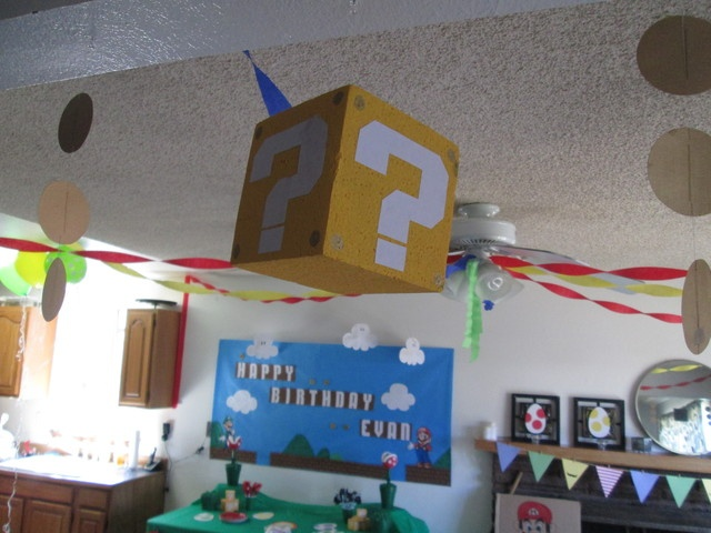 Photo 1 of 16: Super Mario Brothers / Birthday Evans 10th Birthday Party   Catch My Party