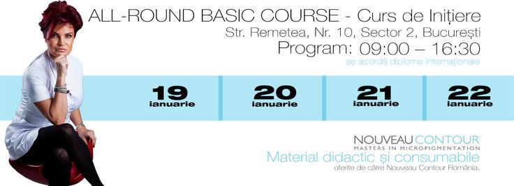 All-Round Basic Course - Permanent Make-Up, Bucharest, ROMANIA 0040 733 696496 / catalin@cursurimicropigmentare.ro
