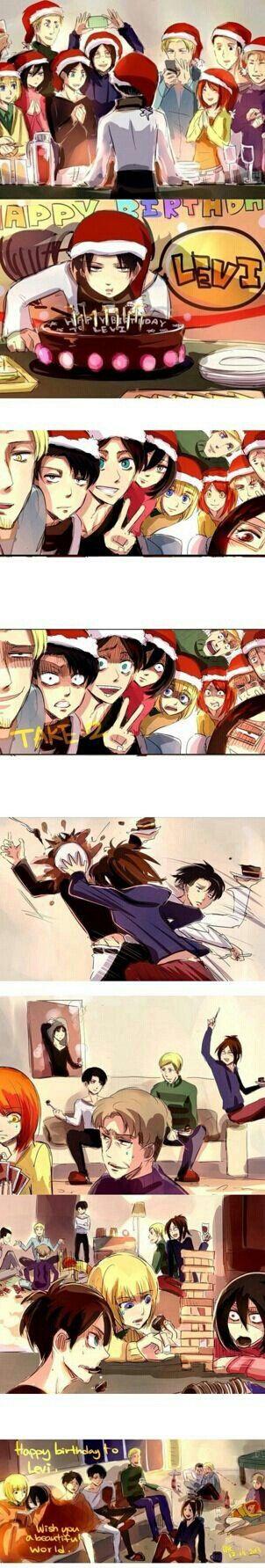 Happy birthday Levi! Attack on titan anime, Attack on