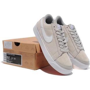 Nike Blazer Basse Beige