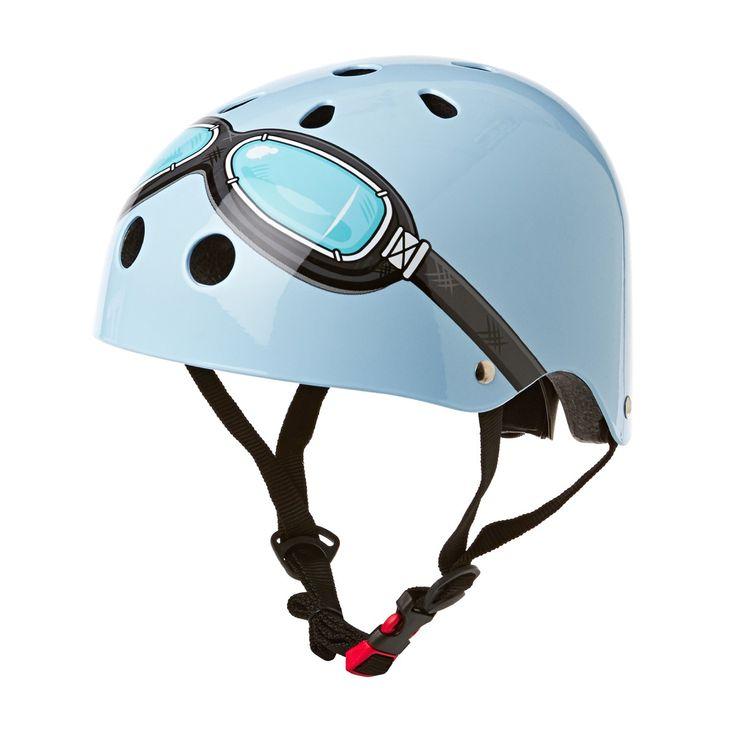 Kiddimoto Helmets - Kiddimoto Kids Helmet - Blue Goggle