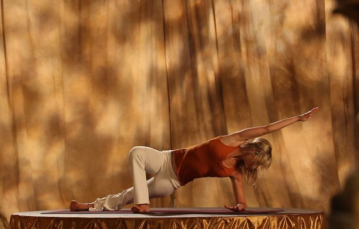 Shiva Rea AM Energy: Strength and Flexibility, Part 1 Video via @SparkPeople