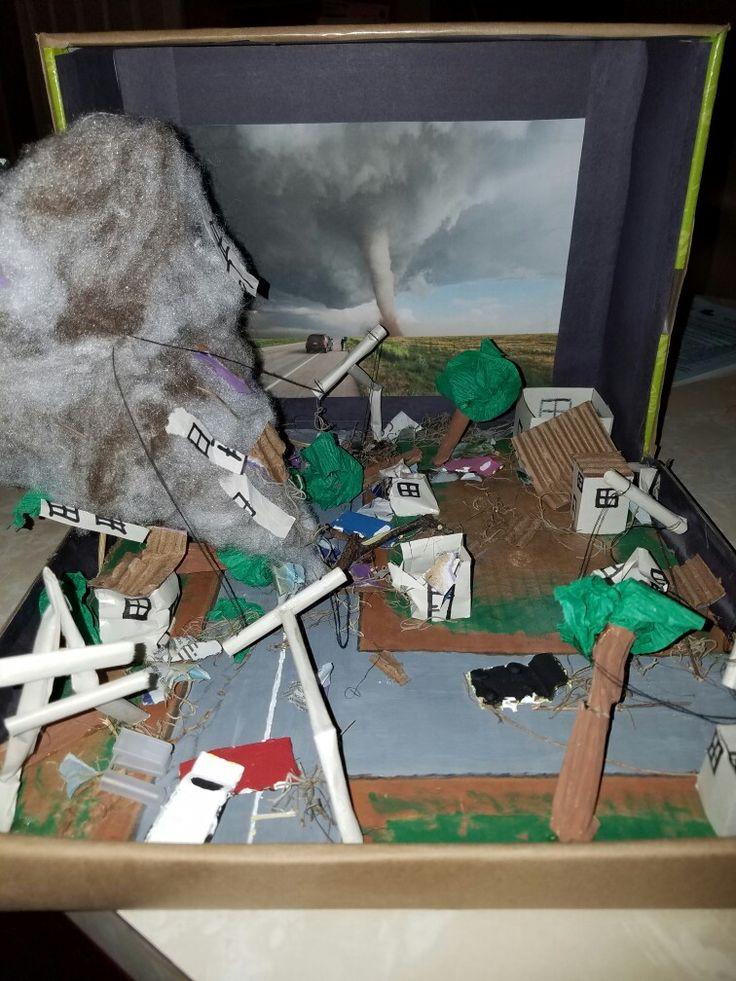 Diorama of Tornado | parenting help | Hurricane models