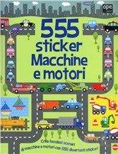 #Macchine e motori. 555 sticker. con adesivi editore Ape junior  ad Euro 5.92 in #Ape junior #Libri libri per ragazzi