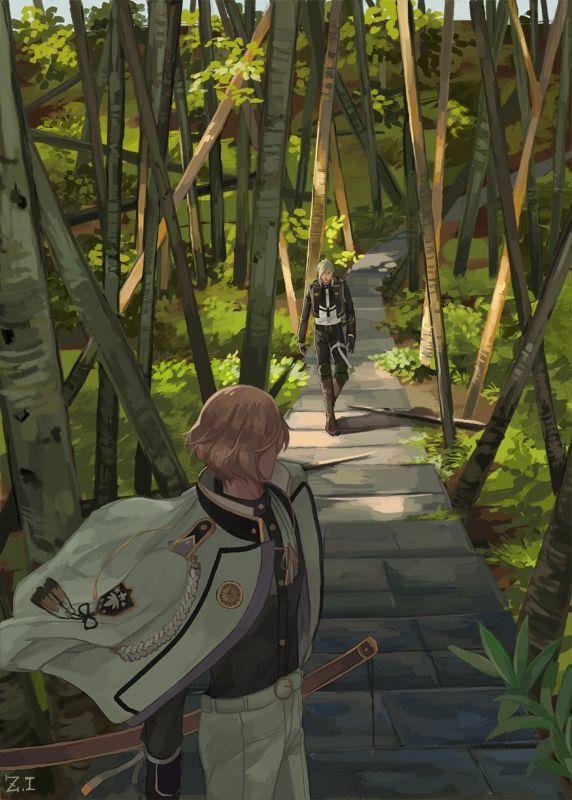 Tōken Ranbu - Higekiri and Hizamaru