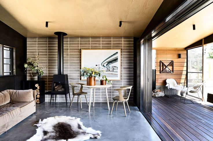 Hill Plains Cottage by Wolveridge Architects. Photography: Derek Swalwell | Story: Belle