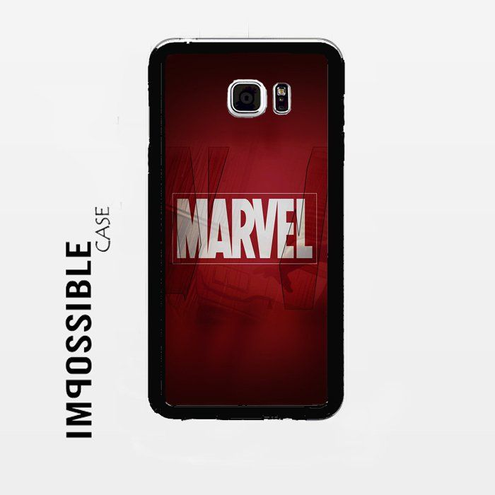 Marvel logo Samsung Galaxy Note 5 Case #samsung #note5 #phonecases #ecrater #google #seo #marketing #shopping #twittershopping