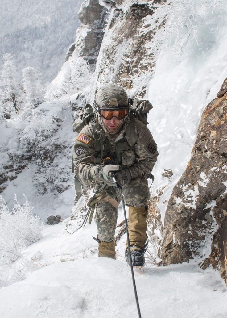 Soldier from 10th Mountain Division                                                                                                                                                                                 More