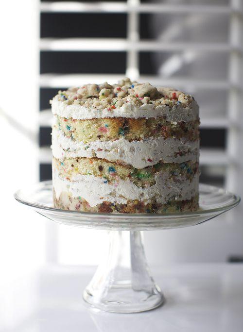 The most amazing birthday cake ever! Momofuku Milk Bar's Birthday Layer Cake recipe on Glazed & Confused »