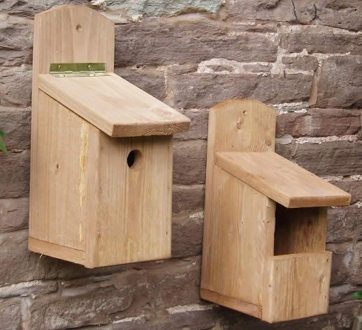 Hand made Nesting Boxes and Bird Boxes