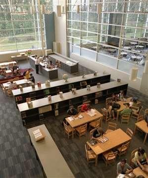 Library @ Alpharetta High School, Designed by Perkins+Will
