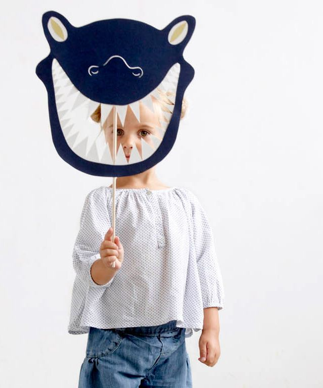 DIY  Monster Mask