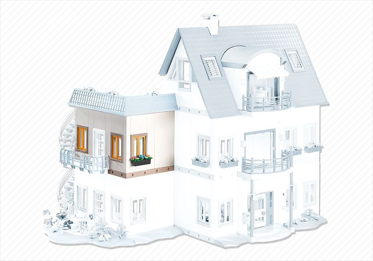 Corner Floor Extension for Suburban House 4279 - 7389 - PLAYMOBIL® Canada