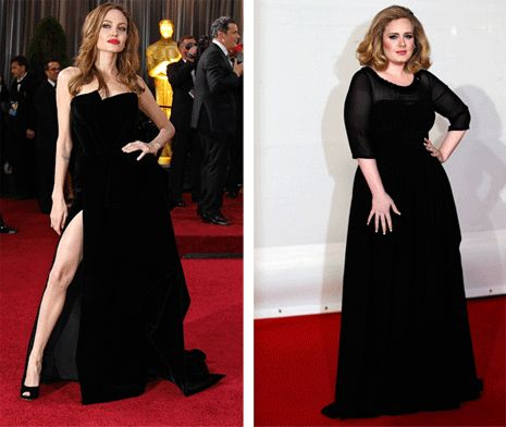 ADELE...is sooooooo much hotter!!
