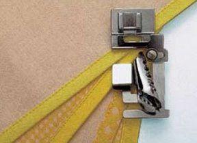 Tutoriales Costura: El uso de los pies de coser especiales