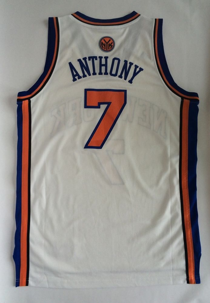 Adidas #NBA New York Knicks Carmelo Anthony Jersey Size Large from $0.99