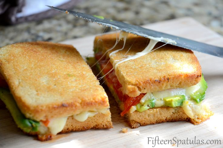 Grilled Cheese with Avocado and Heirloom Tomato: Lunches, Avocado, Grilled Cheese Sandwiches, Breads, Grilled Chee Recipes, Heirloomtomato, Grilled Cheeses, Grilled Chee Sandwiches, Heirloom Tomatoes