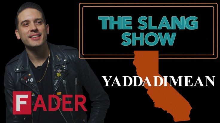 Yaddadimean  G-Eazy  The Slang Show Episode 12 #thatdope #sneakers #luxury #dope #fashion #trending