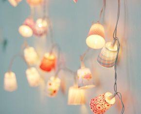 New Wohntipps Ideen f rs Kinderzimmer LED Lichterketten spenden sanftes Licht f r die Nacht