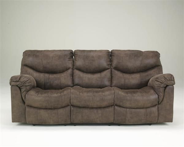 Alzena Gunsmoke Faux Leather Reclining Sofa | Signature Design By Ashley  Furniture Collections | Pinterest | Leather Reclining Sofa, Reclining Sofa  And ...
