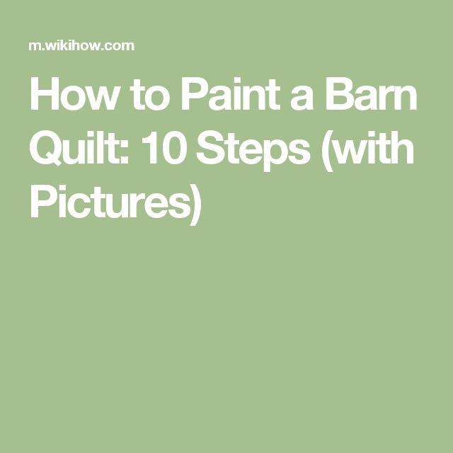 Paint a Barn Quilt Debra Grubbs