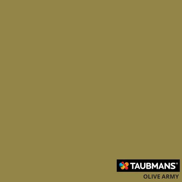 #Taubmanscolour #olivearmy