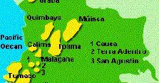 Historia de la cultura San Agustin , el pueblo de la cultura San Agustín habitaron la región de Huila y Caquetá en la actual Colombia, a par...