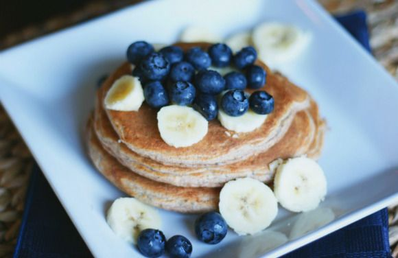 Snack #4: Bananen & Ei Pancakes