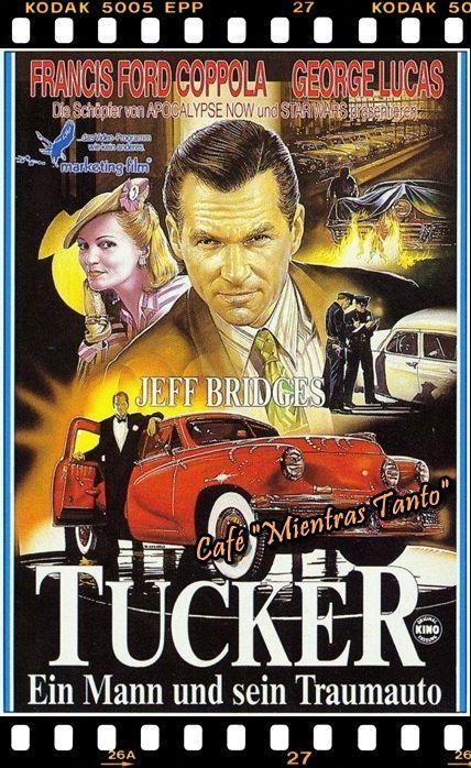 """Cine Sala """"Charles Chaplin"""" - Tucker, un hombre y su sueño (1988) - Ingresa a la sala pulsando el Link: http://cine-sala-a01-jcp.blogspot.com/2016/04/tucker-un-hombre-y-su-sueno-1988-dir.html"""