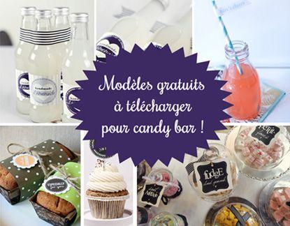 Des idées et adresses pour réaliser facilement votre candy bar ou bar à bonbons sans dépenser des fortunes.