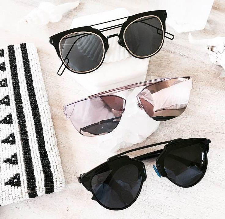 Check out the insane range of sunglasses available at tealandtala.com.au