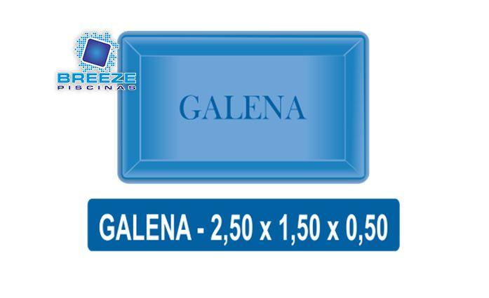 A Piscina de Fibra Galena oferece um belo design, boa profundidade. Ideal para pequenos espaços. Piscinas a Partir de R$ 3.500,00