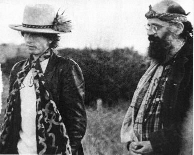 Beat Generation - Bob Dylan and Allen Ginsberg