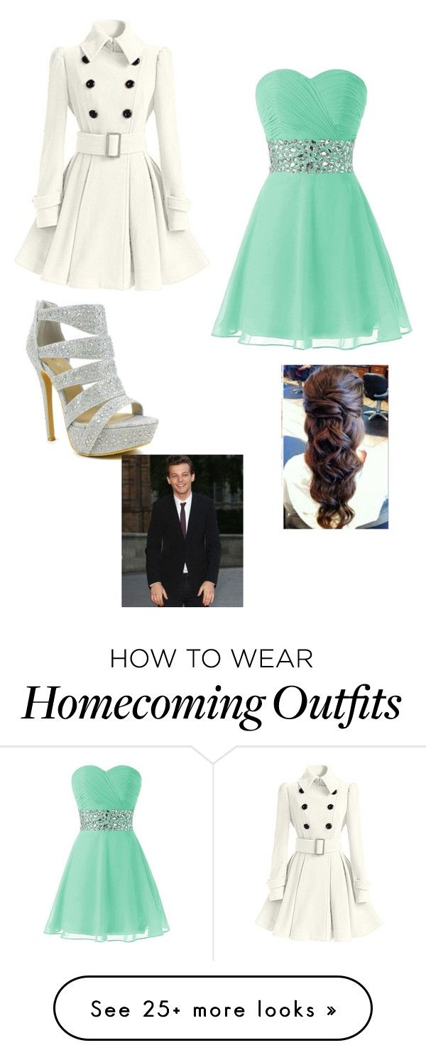 """Homecoming with Louis #1"" by andreaquigley28 on Polyvore featuring мода и Celeste"