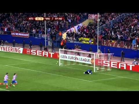 Radamel Falcao goal against Valencia