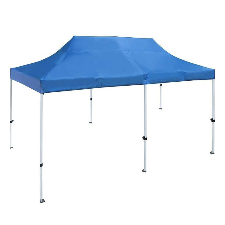 Aleko 10 X 20 ft Outdoor Party Waterproof Blue Gazebo Tent Canopy (Blue)  sc 1 st  Pinterest : blue canopy - memphite.com