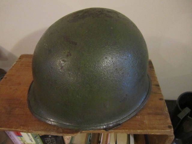 WW11 M1 Helmet Battle worn Military Uniform WW11 collectible Front seam WW11 Military Helmet. Reenactor uniform Field kit by ontherebound on Etsy