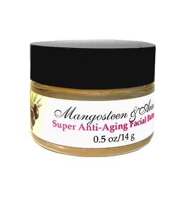 100% Natural Mangosteen Acai Vita Burst Night Balm by Delizioso Skincare. $36.00. Vegan. 100% Natural. Cruelty Free. Gluten Free. Formulated with 55% Certified Organic Ingredients. 100% Natural Mangosteen & Acai extracts use a super potent and aggressive anti-aging system of antioxidants like coffee to perfect dull skin. Organic oils nourish while aloe and pure juices of cucumber and blueberry rehydrate. Intensive, highly potent and buttery night balm restores your skin while you...