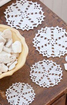Best Free Crochet » Free Crochet Pattern Hearts Desire Doily