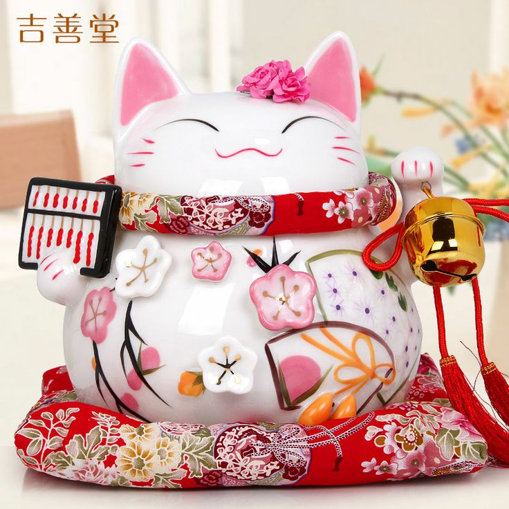Jishan Tang Lucky Cat ceramic gold ornaments large Japanese Lucky Cat piggy bank piggy bank opened in 2069 - eBoxTao, English TaoBao Agent, Purchase Agent. покупка агент