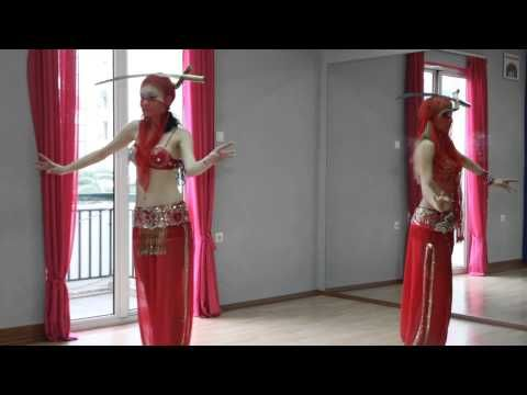 how to do the camel walk in belly dance