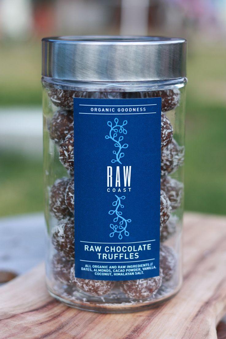 Raw Chocolate Truffles   Raw Coast