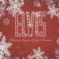 Elvis Presley Christmas Songs And Gospel Favorites USA CD album (CDLP) promo